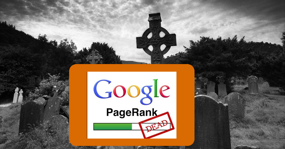 Google PageRank Dead